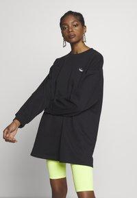 adidas Originals - FAKTEN LONG SWEATER LONG SLEEVE PULLOVER - Sweatshirt - black - 2