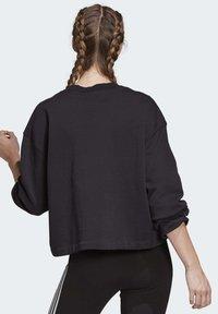 adidas Originals - PREMIUM CREW SWEATSHIRT - Sweatshirts - black - 1