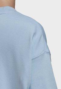 adidas Originals - TREFOIL CREW SWEATSHIRT - Sweater - blue - 6