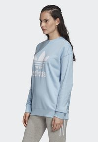 adidas Originals - TREFOIL CREW SWEATSHIRT - Sweater - blue - 3