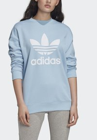 adidas Originals - TREFOIL CREW SWEATSHIRT - Sweater - blue - 4