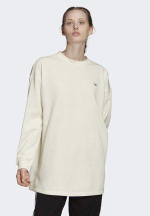 SWEATSHIRT - Sweater - white