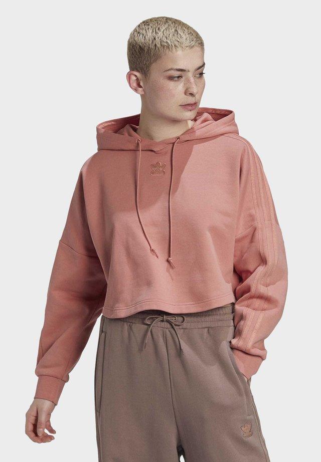 CROPPED HOODIE - Bluza z kapturem - pink