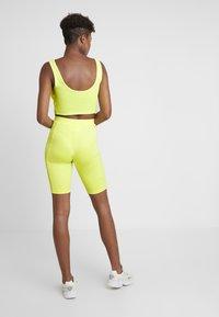 adidas Originals - CYCLING SHORTS - Szorty - semi frozen yellow - 2