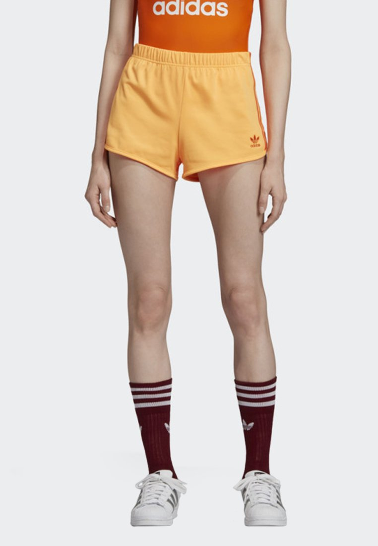 adidas Originals - 3-STRIPES SHORTS - Short - orange