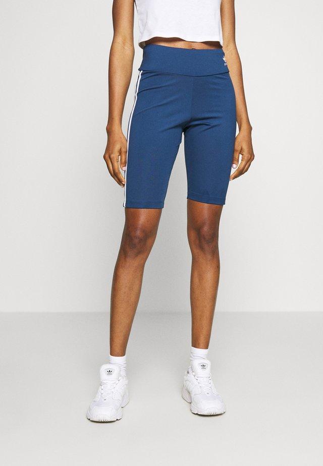 ADICOLOR ORIGINALS HIGH WAISTED TIGHTS - Shorts - night marine/white