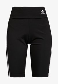 adidas Originals - ADICOLOR ORIGINALS HIGH WAISTED TIGHTS - Shorts - black/white - 3