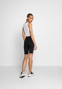 adidas Originals - ORIGINALS HIGH WAISTED TIGHTS - Shorts - black/white - 2