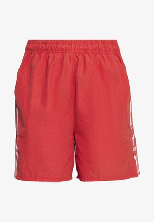 2020-03-25 SHORTS - Shorts - lush red/white