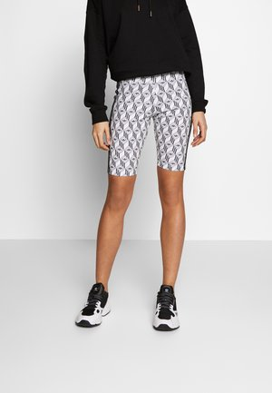 CYCLING SHORTS - Shorts - black/white