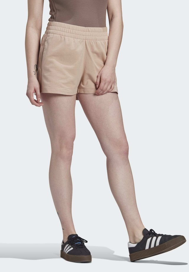 3-STRIPES SHORTS - Shorts - beige