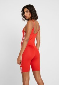 adidas Originals - CYCLING - Jumpsuit - lush red/white - 2