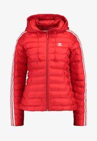 adidas Originals - SLIM JACKET - Light jacket - scarlet - 3