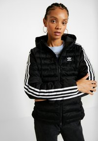 adidas Originals - SLIM JACKET - Veste d'hiver - black - 0