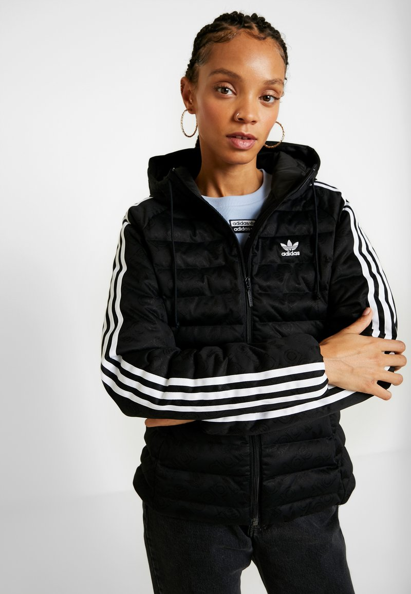 adidas Originals - SLIM JACKET - Veste d'hiver - black