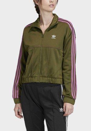 TRACK TOP - Outdoor jacket - green