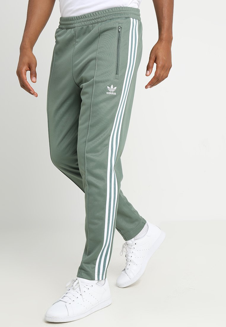 adidas Originals - BECKENBAUER - Tracksuit bottoms - trace green