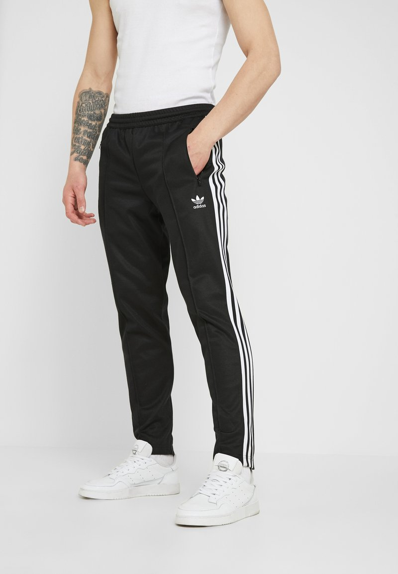 adidas Originals - BECKENBAUER - Tracksuit bottoms - black