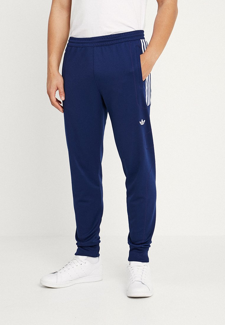 adidas Originals - Spodnie treningowe - dark blue