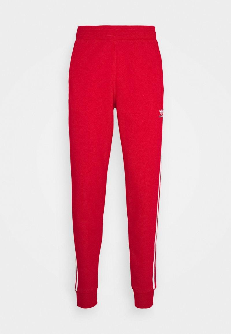 adidas Originals - STRIPES PANT UNISEX - Pantalon de survêtement - scarle