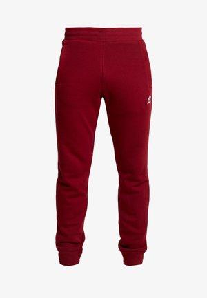 ADICOLOR REGULAR TRACK PANTS - Pantaloni sportivi - collegiate burgundy