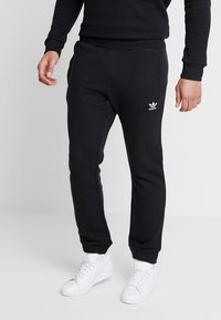 adidas Originals - ADICOLOR REGULAR TRACK PANTS - Jogginghose - black - 0