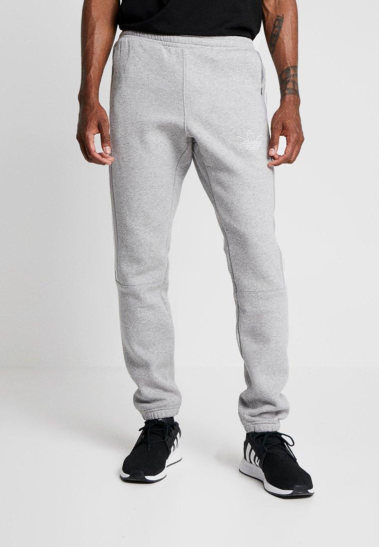 adidas Originals - OUTLINE REGULAR TRACK PANTS - Spodnie treningowe - medium grey heather