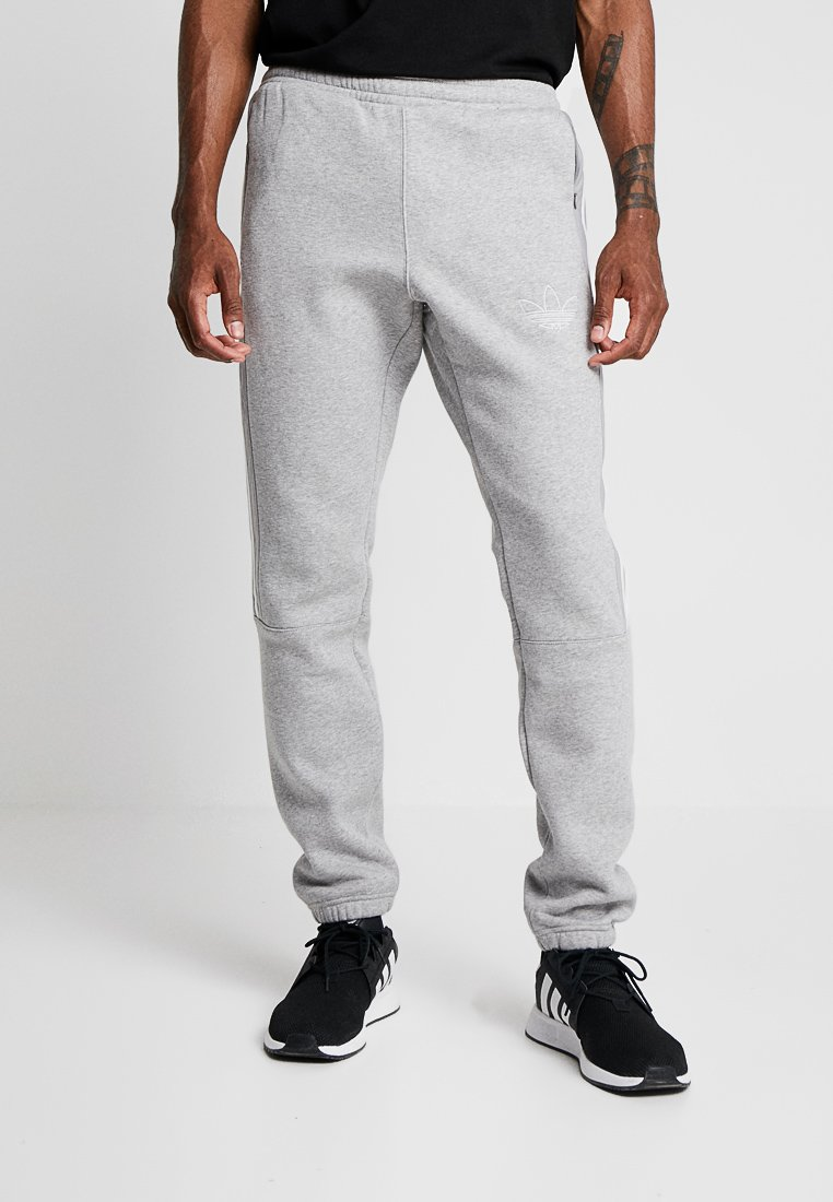 adidas Originals - OUTLINE REGULAR TRACK PANTS - Pantalones deportivos - medium grey heather