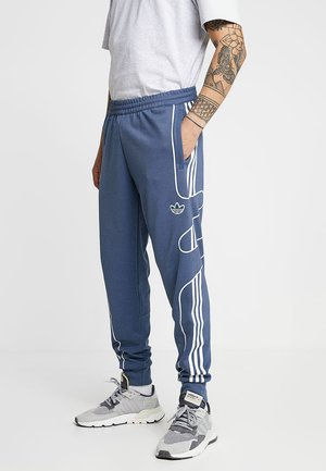 OUTLINE STRIKE REGULAR TRACK PANTS - Pantaloni sportivi - tech ink