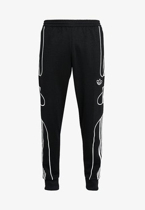 OUTLINE STRIKE REGULAR TRACK PANTS - Pantalon de survêtement - black