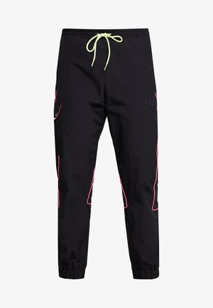 REGULAR TRACK PANTS - Kapsáče - black