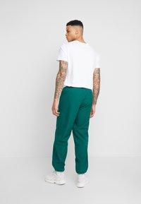 adidas Originals - WINTERIZED TRACK PANT - Trainingsbroek - coll green/solar green/ref silver/vapour green - 2