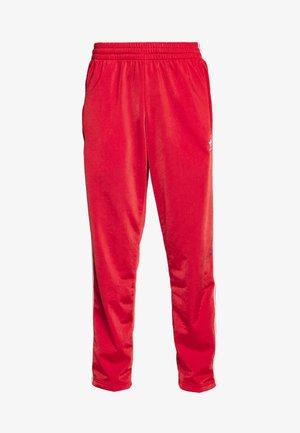 FIREBIRD ADICOLOR TRACK PANTS - Tracksuit bottoms - lush red