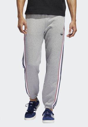 3-STRIPES PANEL JOGGERS - Pantalon de survêtement - grey