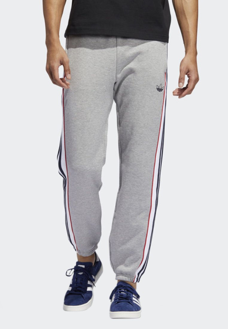 adidas Originals - 3-STRIPES PANEL JOGGERS - Träningsbyxor - grey