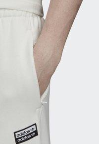 adidas Originals - JOGGERS - Tracksuit bottoms - white - 5