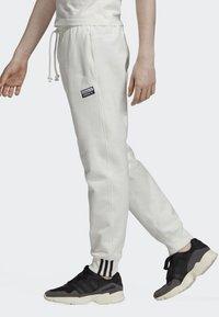 adidas Originals - JOGGERS - Tracksuit bottoms - white - 3