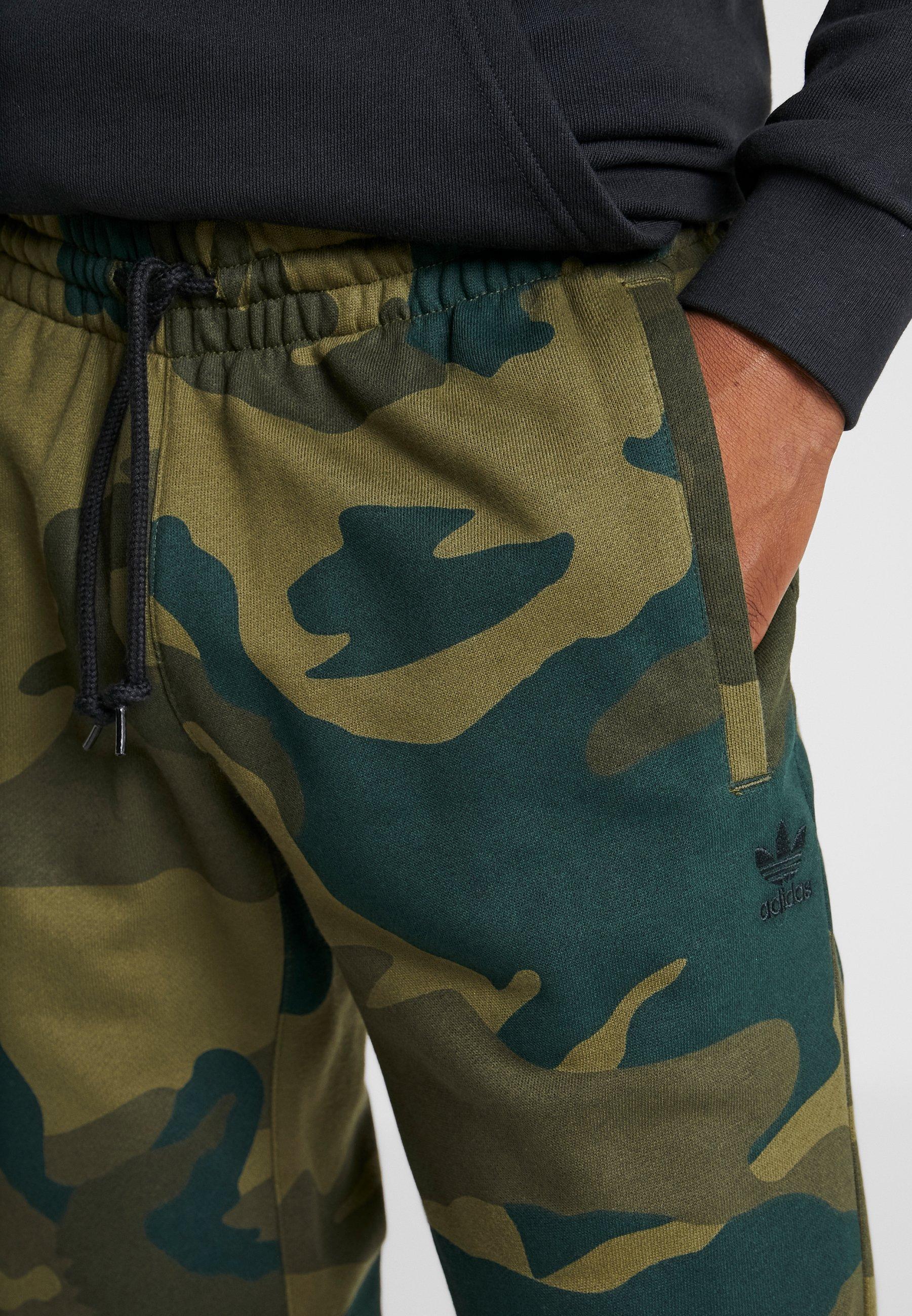 adidas Originals CAMO PANT - Spodnie treningowe - multicolor