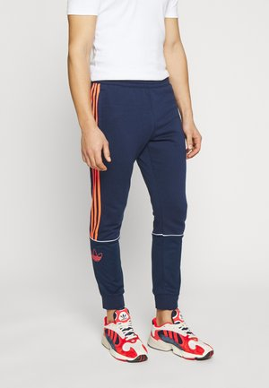 SPORT COLLECTION OUTLINE SPORT PANTS - Spodnie treningowe - night indigo