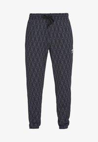 adidas Originals - TREFOIL MONOGRAM GRAPHIC SPORT PANTS - Spodnie treningowe - black - 3