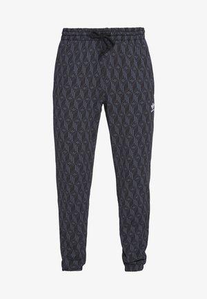TREFOIL MONOGRAM GRAPHIC SPORT PANTS - Spodnie treningowe - black
