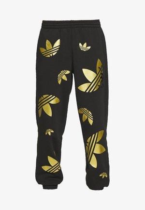 PANT - Pantalones deportivos - black/plamet