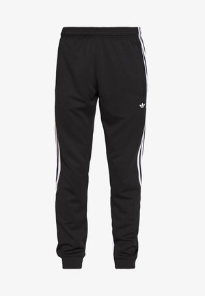 3STRIPES WRAP TRACK PANTS - Verryttelyhousut - black/white