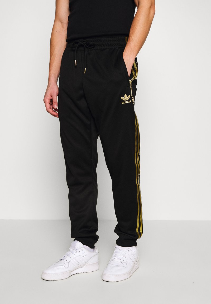 adidas Originals - Pantaloni sportivi - black/gold