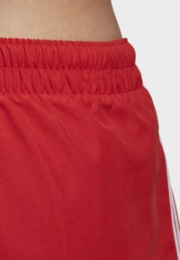 adidas Originals - 3-STRIPES SWIM SHORTS - Shorts - red - 4