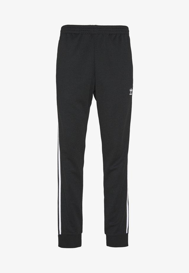 UNISEX - Pantalon de survêtement - black/white