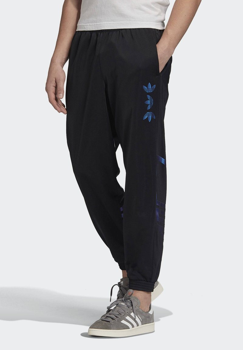 adidas Originals - ZENO TREFOIL TRACKSUIT BOTTOMS - Tracksuit bottoms - black