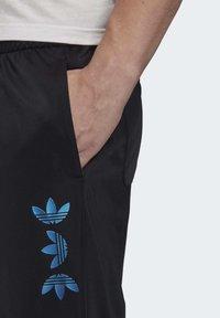 adidas Originals - ZENO TREFOIL TRACKSUIT BOTTOMS - Tracksuit bottoms - black - 4