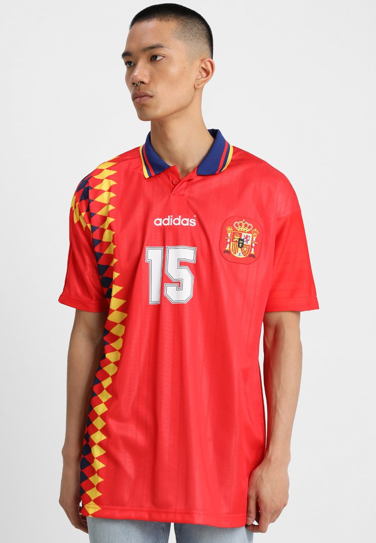shirt Imprimé Adidas SpainT Red Originals XlwPiOkZTu