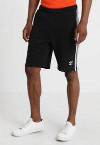 adidas Originals - 3-STRIPE - Träningsbyxor - black - 0